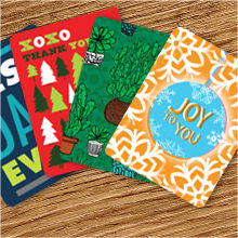 Greeting Cards on Heavy Card Plain